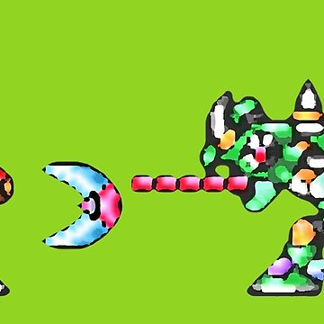 Mega Man X vs. Sting Chameleon by Justin-Case001