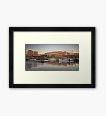 Hobart, Tasmania Framed Print