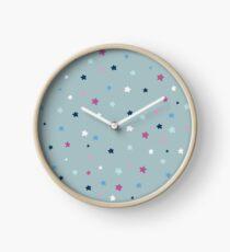 Stars pastell Uhr