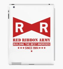 Red Ribbon Army iPad Case/Skin