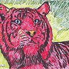 Red Tiger by Juhan Rodrik