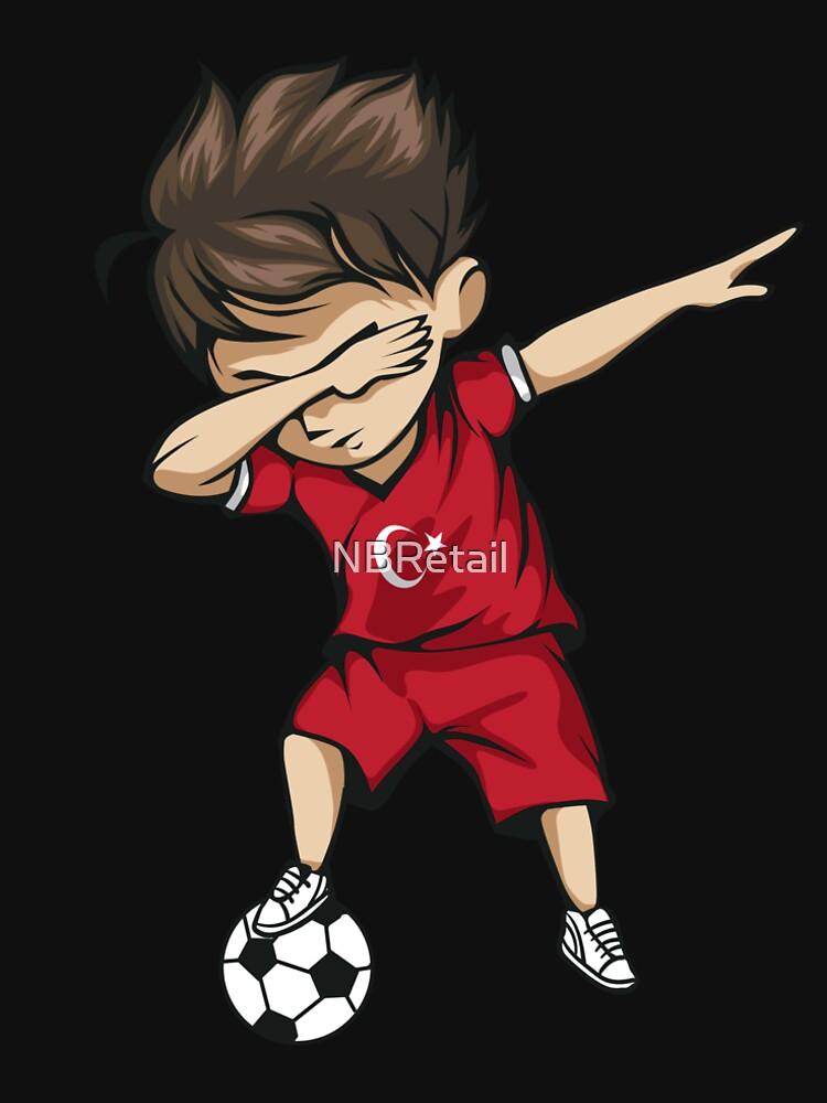 700bd46a27721 Dabbing Soccer Boy Turkey Jersey Football | Men's Premium T-Shirt