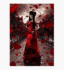 Rose Tempest Photographic Print
