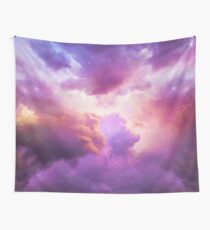 The Skies Are Painted (Cloud Galaxy) Wall Tapestry