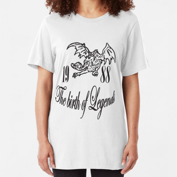 1988 the birth of Legends Slim Fit T-Shirt