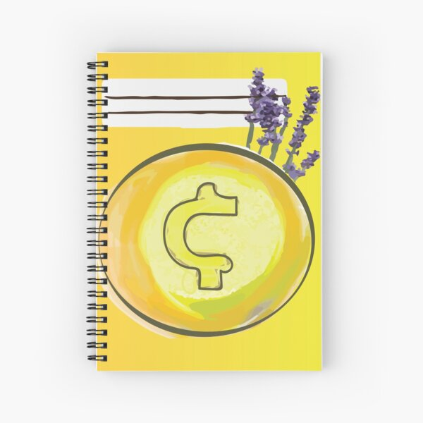 coinage Spiral Notebook