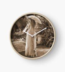Victorian walk Clock