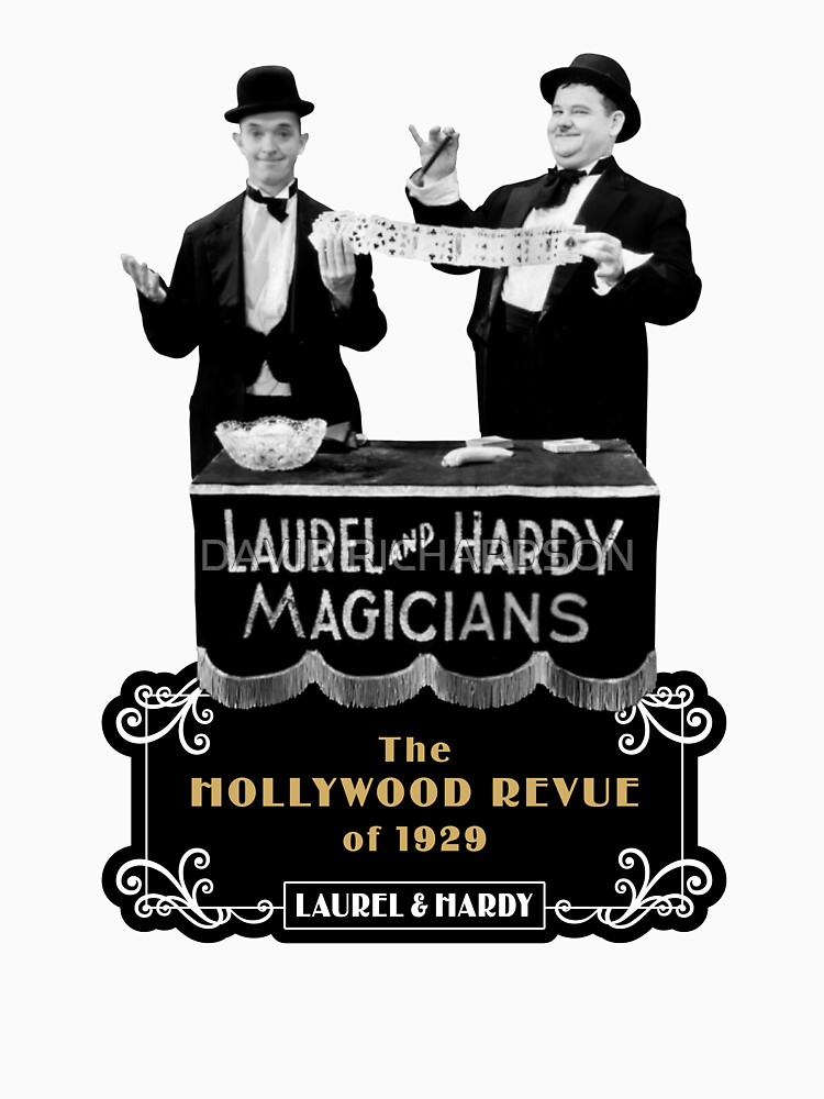 Laurel & Hardy - Magicians (The Hollywood Revue of 1929) by TIGERDAVER