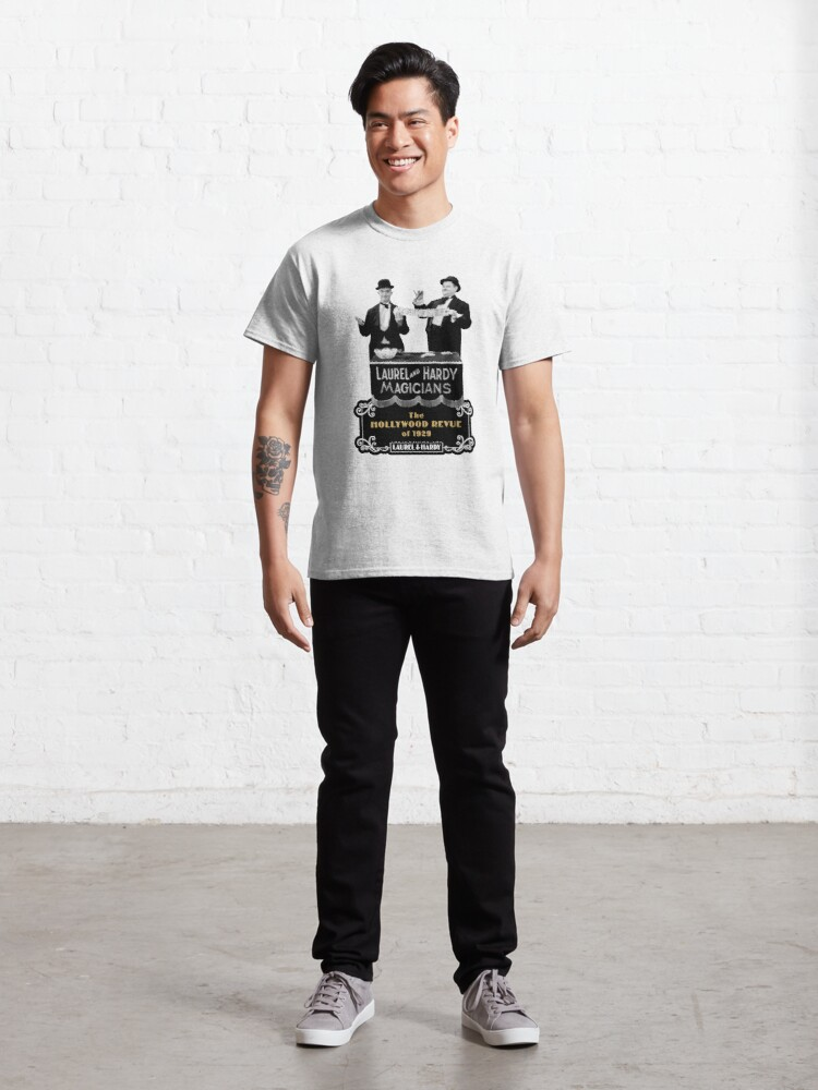 Alternate view of Laurel & Hardy - Magicians (The Hollywood Revue of 1929) Classic T-Shirt
