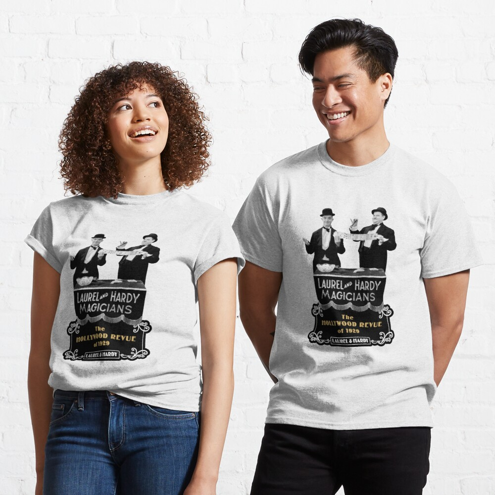 Laurel & Hardy - Magicians (The Hollywood Revue of 1929) Classic T-Shirt