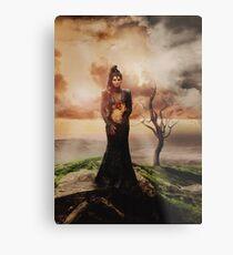 Villain Ladies - The Evil Queen Metal Print