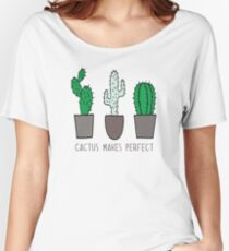 Cactus Makes Perfect Women's Relaxed Fit T-Shirt