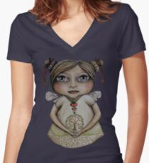 Tree of Life Tshirt Women's Fitted V-Neck T-Shirt