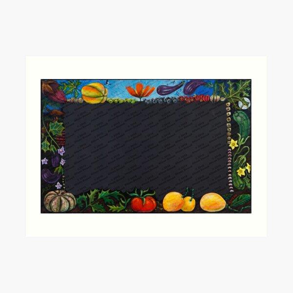 Blackboard Art Print