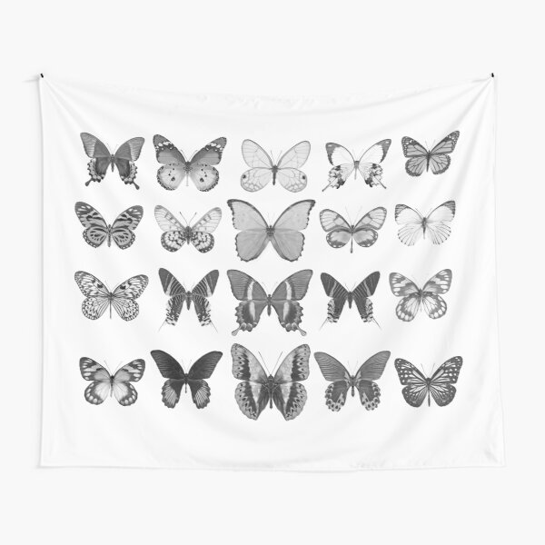 Mono Butterfly Collection Tapestry