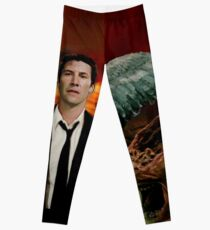 Keanu Reeves - The Angel from Hell (design by ACCI) Leggings