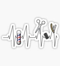 Barber Heartbeat Gift Sticker