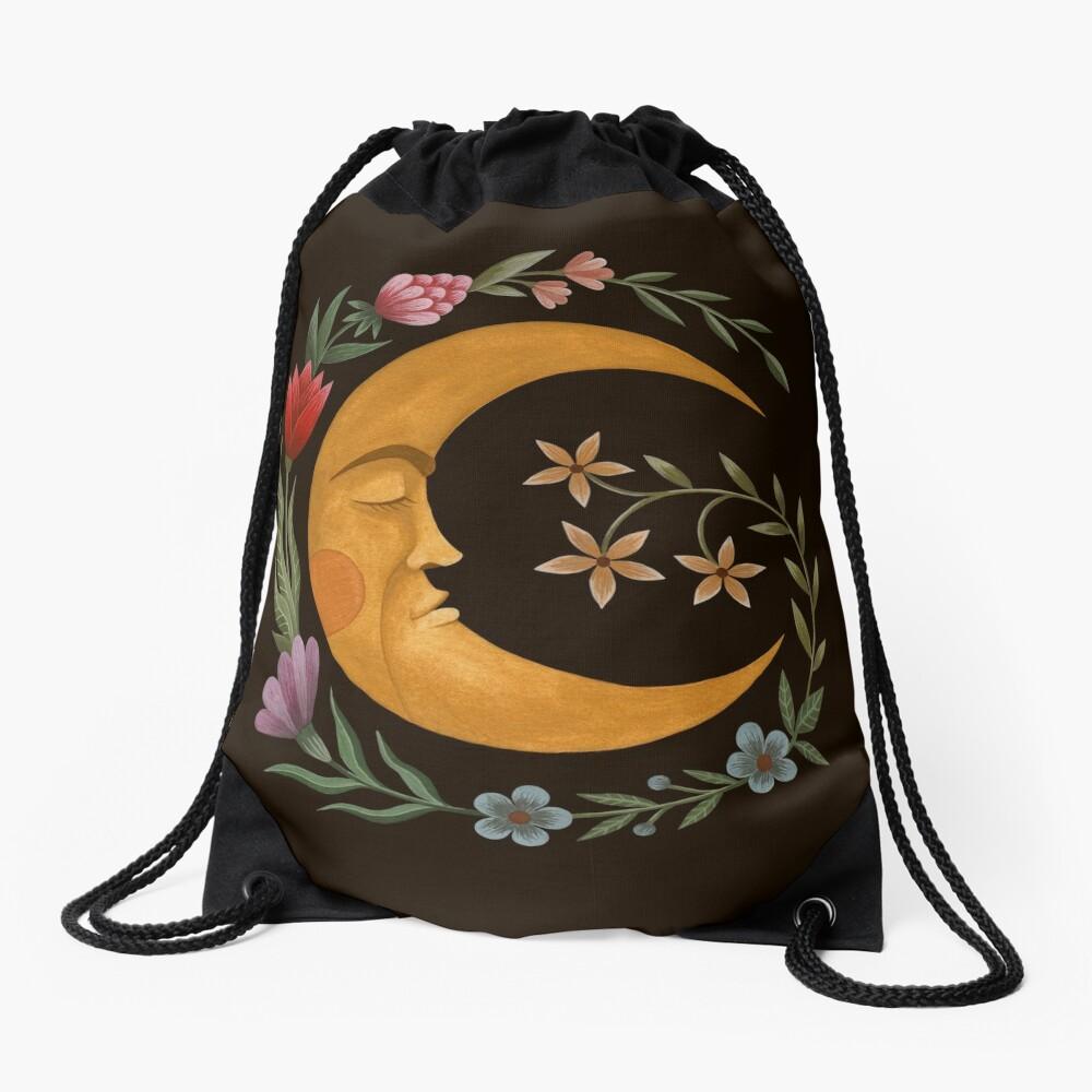 Midsummer Moon Drawstring Bag