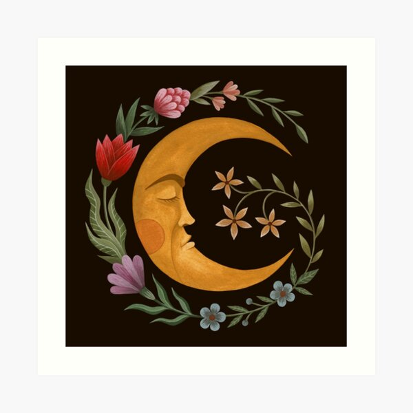 Midsummer Moon Art Print