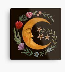 Lámina metálica Luna de verano