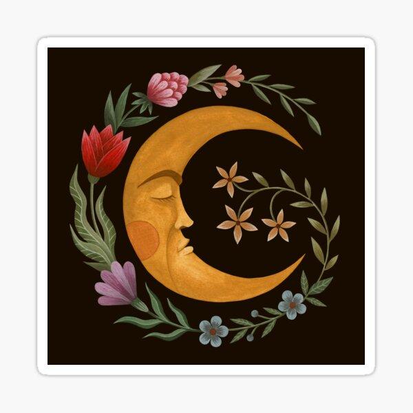 Midsummer Moon Sticker