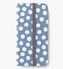 Dots / Punkte  iPhone Flip-Case/Hülle/Skin