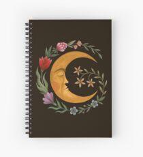 Midsummer Moon Spiral Notebook