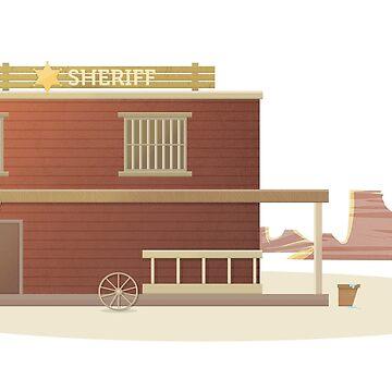 Western Sheriff by bergern
