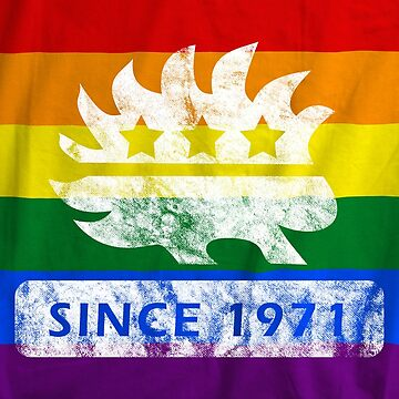LIbertarian Pride - Since 1971  by ProudApparel