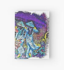 Pretty maids in a row Hardcover Journal