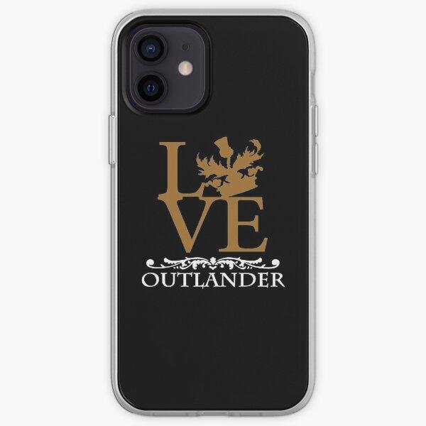 Outlander Merch Coque souple iPhone