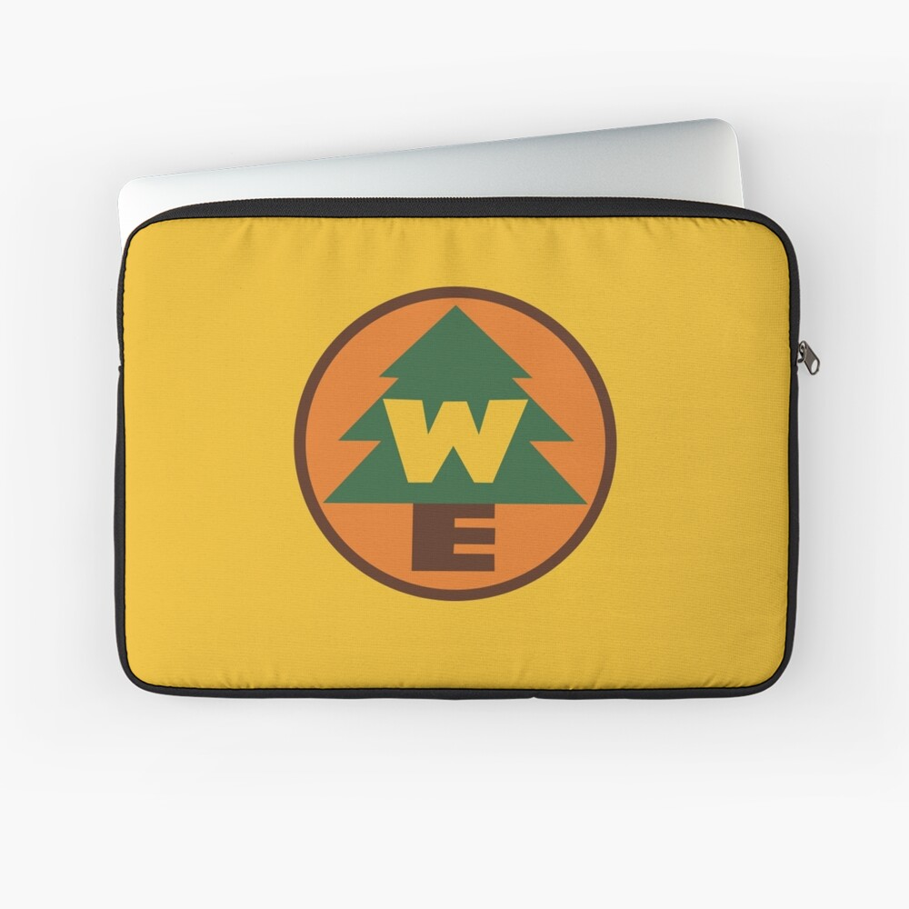 Wilderness Explorer Logo Laptop Sleeve
