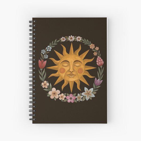 Midsummer Sun Spiral Notebook