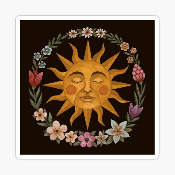 Midsummer Sun Sticker