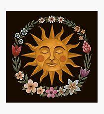 Midsummer Sun Photographic Print