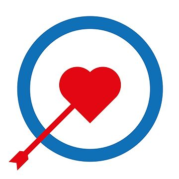 Arrow Love target T-Shirts by HozDes