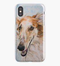 Borzoi - Mihail iPhone Case