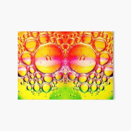 Lime Green Bubble Machine Art Board Print