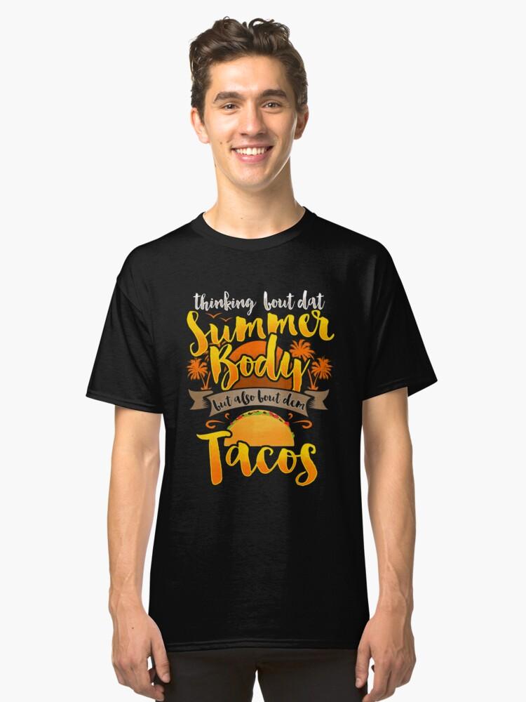 3118daa88d33 Tacos Save Lives Summer Is Coming T-Shirt Eat Tacos Shirt Classic T-Shirt
