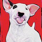 Bull Terrier Puppy by Tanja Kooymans