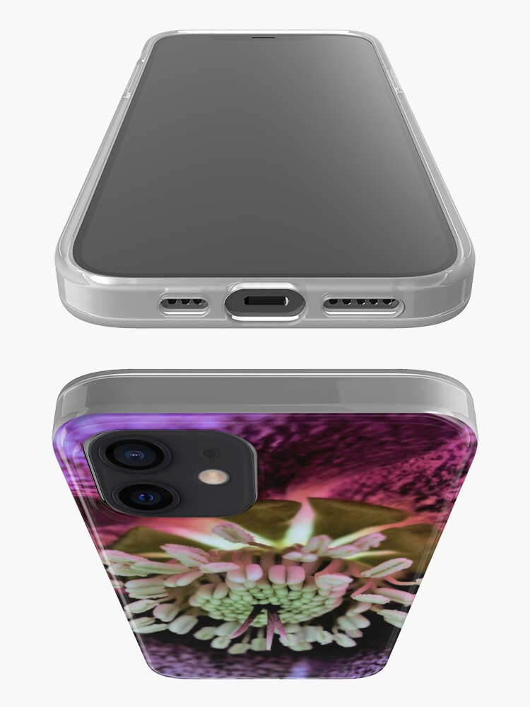 Alternate view of Purple Hellebore iPhone Case & Cover