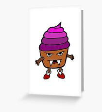 MUFFIN MONSTER Greeting Card