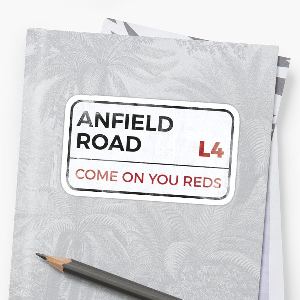 Liverpool come on you reds street sign liverpool wall art liverpool posters