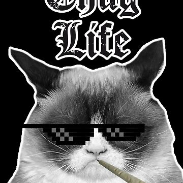 Thug Life Cat by HeadOut