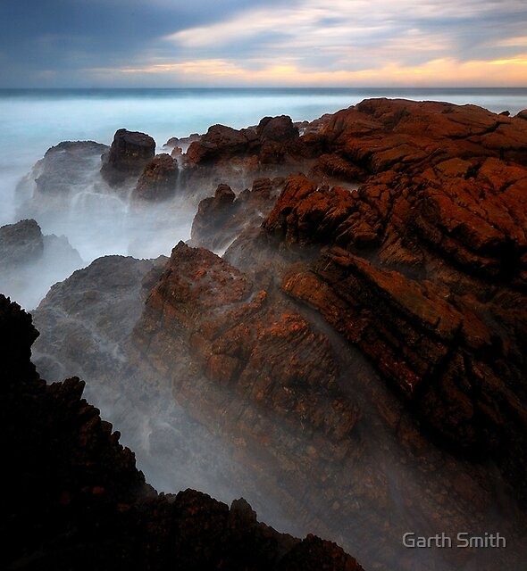 The Fishing Spot at Last Light by Garth Smith