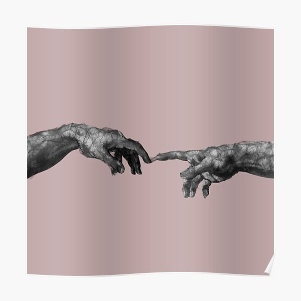 The Creation of Adam - {Connection} Poster