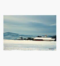 Bavarian Winter Photographic Print