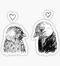 birdie love Sticker
