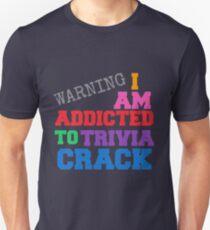 Camiseta ajustada ESTOY ADICTO A TRIVIA CRACK