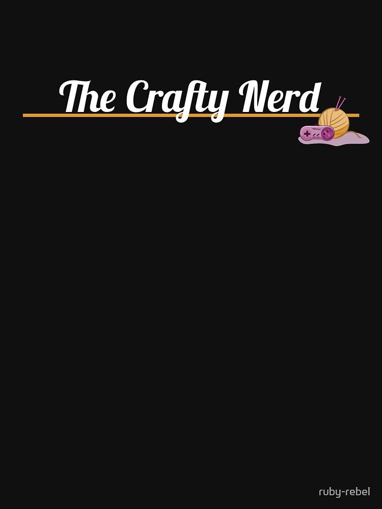 The Crafty Nerd Shirt by ruby-rebel